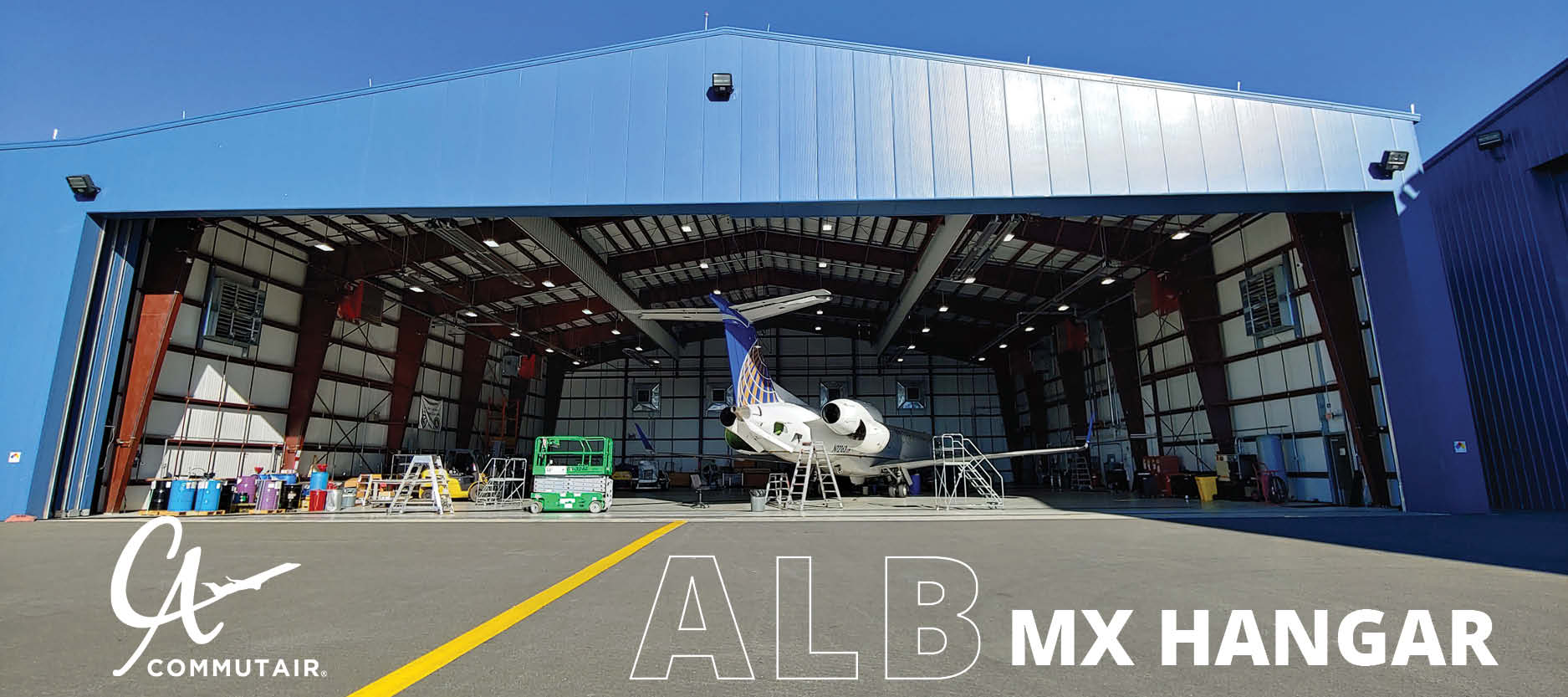 CommutAir Maintenance Hangar in Albany